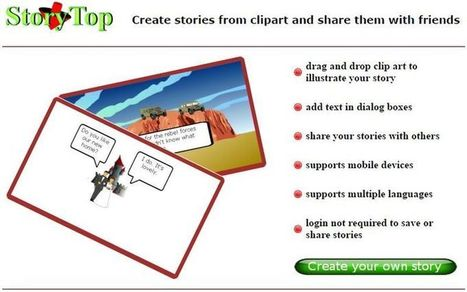 StoryTop: crea viñetas con esta utilidad web gratuita | El colador | Scoop.it