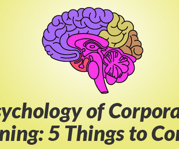 Psychology of Corporate eLearning: 5 Things to Consider | e-learning-ukr | Scoop.it