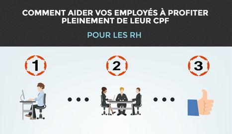 CPF : les 9 étapes pour aider vos collaborateurs à se lancer en formation | L'e-veille emploi & formation | Scoop.it