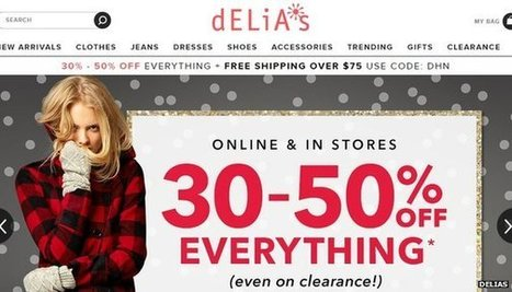 Delia's files for bankruptcy | year 13 OCR business studies | Scoop.it