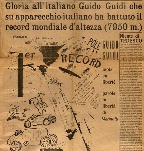 L'Italia Futurista, la revue belliqueuse des futuristes italiens | TYPOGRAPHIE | Scoop.it