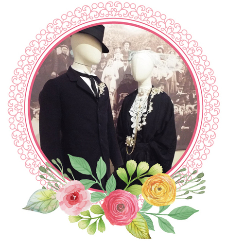 À la mode du Trégor-Goëlo : Les costumes de mariage | GenealoNet | Scoop.it