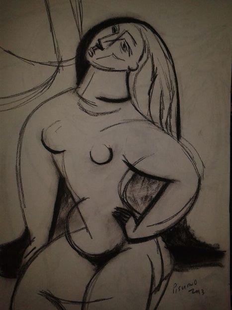 Beautiful Figurative Painting of a woman | Arts Web | Scoop.it
