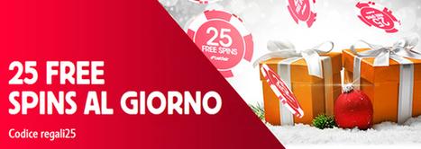 Niente pantofole, pigiami o sciarpe ma 25 free spins sulle tue slot preferite. | Online Slots | Scoop.it