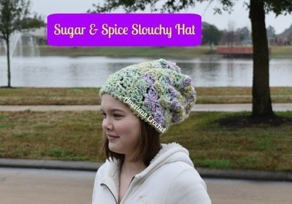Sugar & Spice Slouchy Hat | Crochet | Scoop.it