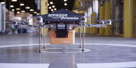 Amazon autorisé à tester ses drones de livraison aux Etats-Unis   Libertés Numériques   Scoop.it