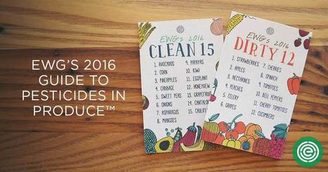 EWG's Shopper's Guide to Pesticides in Produce | Agriculture et planète | Scoop.it