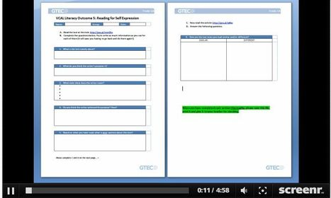 Screenr - englishraven: Jason Renshaw Screencasting Tips: Using storyboards to plan your screencasts | Screencasting & Flipping for Online Learning | Scoop.it