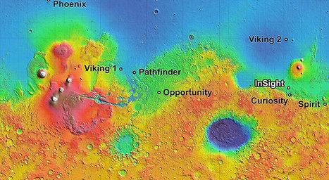 NASA evaluates four candidate sites for 2016 Mars mission - Astronomy Magazine | Loki Mars Promotes | Scoop.it