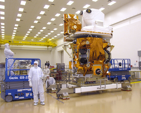 Landsat 8 Observatory with both instruments onboard | Agronegócio | Scoop.it