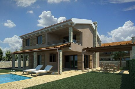 New stone houses - Punat - Municipality Punat - 135m2 - 450.000,00 € | Prestige Real Estate Krk | Scoop.it