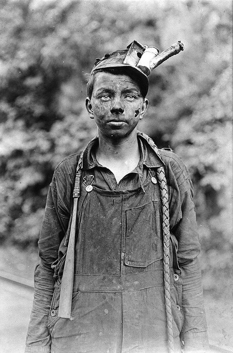 25 vieux clichés saisissants du travail des enfants vu par Lewis Hine | Stratégies de communication | Scoop.it