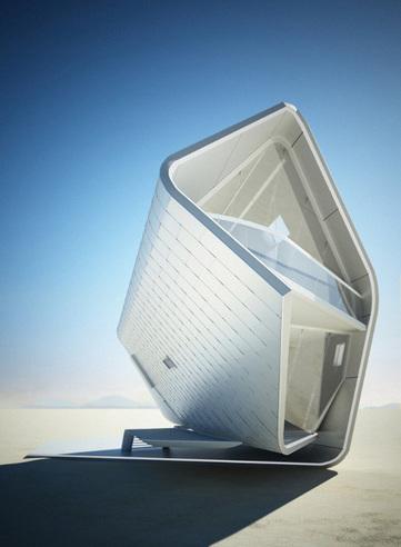 Arquitectura Moderna: Casa prefabricada California Roll House | Habitar un invernadero | Scoop.it