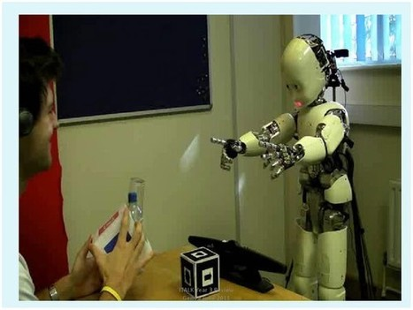 Robot learns baby talk through conversation with humans | The Robot Times | Scoop.it