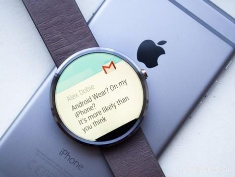 Les montres Android maintenant compatibles avec iOS | Applications mobiles professionnelles | Scoop.it
