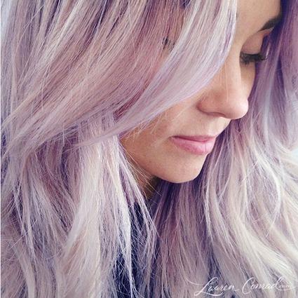Haartrend 2014: paars kapsel   kapsel trends   Scoop.it