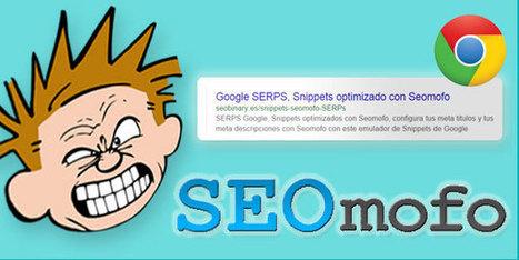 SERPS de Google, Snippets optimizados con Seomofo | Web hosting | Scoop.it