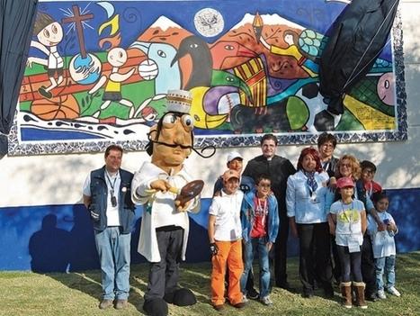 Develan mural en el Instituto Andes   Excelsior (Mexique)   Kiosque du monde : Amériques   Scoop.it