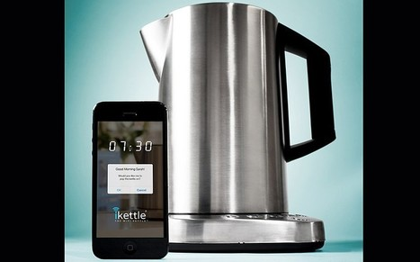 WiFi kettle allows you to boil water from bed - Telegraph | Technology in Business Today | Scoop.it