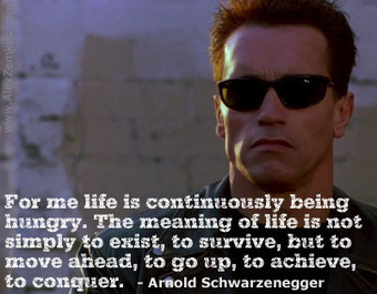5 Rules To Success - Arnold Schwarzenegger | Momentum, the 'Big Mo' | Scoop.it