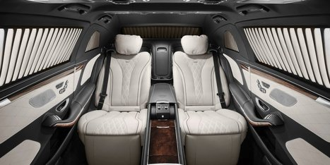This is the $1.6 million armored Mercedes-Maybach limo you can't have | VIP SERVICE Amsterdam™ | Scoop.it