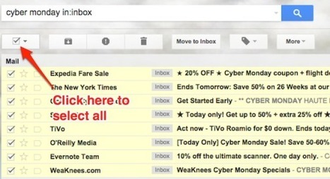 How to Use Gmail Search to Boycott Cyber Monday - Slate Magazine (blog) | corp camp | Scoop.it