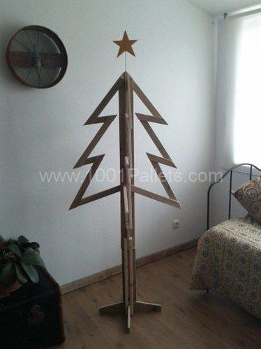 Sapins de Noel en bois de palette • 1001 Pallets | Eco-conception | Scoop.it
