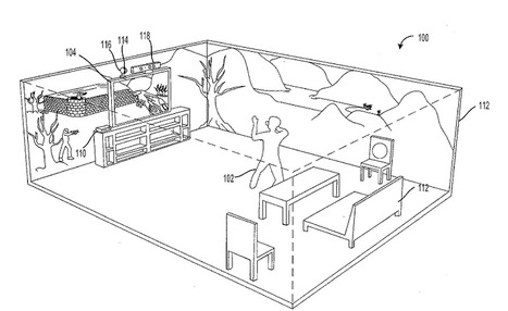 """Microsoft patent application shows Holodeck-style """"immersive display"""" 