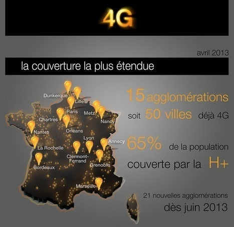 la couverture 4G la plus étendue de France | 4G | Scoop.it