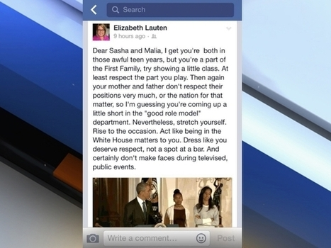 Congressman's communication head under fire after targeting Obama girls   Littlebytesnews Current Events   Scoop.it