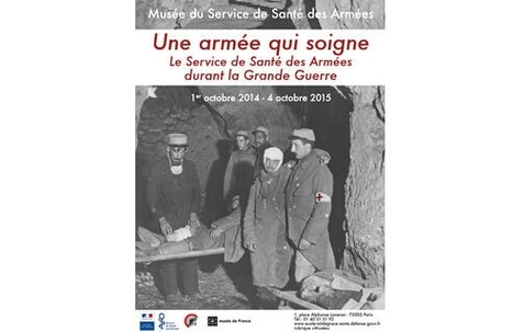 14-18 : Une armée qui soigne. Exposition au Musée du Service de Santé des Armées | Nos Racines | Scoop.it