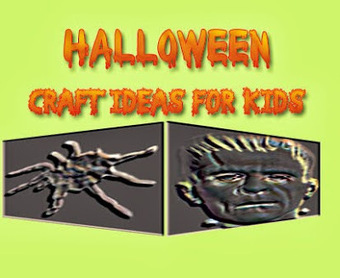 5 Interesting Kids Halloween Craft Ideas  to Make | Cool Easy Crafting Guide Blog | Scoop.it