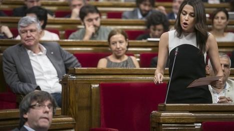 El Parlament aprueba la vía unilateral y desobedece al Constitucional, Dani Cordero y Àngels Piñol | Diari de Miquel Iceta | Scoop.it