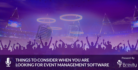 Select The Best Event Management Software For Your Business | Web and Mobile App Development Company | Scoop.it
