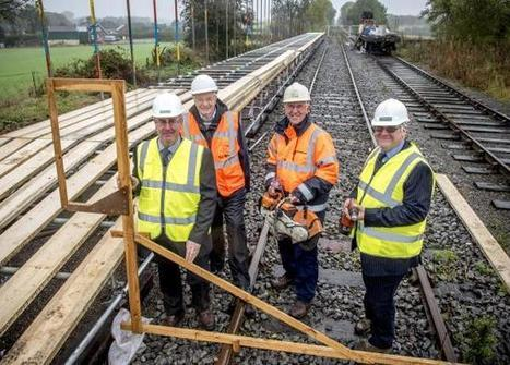 Works starts on new rail platform | Truck Access Platform, Ladder Platform & Aluminium Platforms | Scoop.it