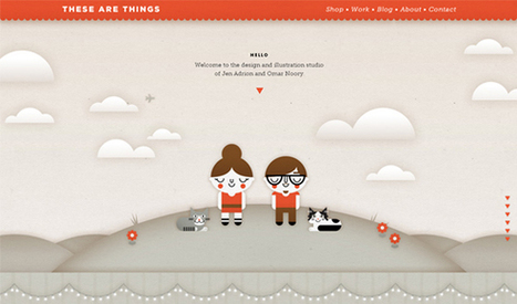 15 fantastic examples of parallax scrolling websites | Designer Daily: graphic and web design blog | Web Design | Scoop.it