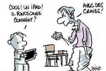 Cool un iPad !   Baie d'humour   Scoop.it
