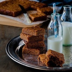 Caramelised White Chocolate Brownies   Baking Recipes   Scoop.it