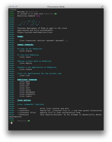 nodejitsu/jitsu - GitHub | javascript.js | Scoop.it