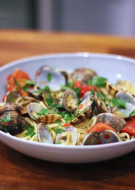 Bent Philipson Chef,HealthyRecipe // Spaghetti alle vongole | Bent Philipson Chef | Scoop.it