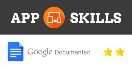 App Skills - iROCvanTwente | Frans en mixed media | Scoop.it
