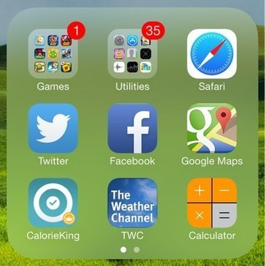 How to create nested folders on iOS 7 | Edtech PK-12 | Scoop.it