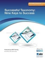 Successful Taxonomy: Nine Keys to Success   ECM   Scoop.it