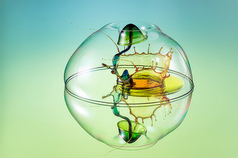 New High Speed Liquid Splash Photographs by Markus Reugels | Colossal | What Surrounds You | Scoop.it