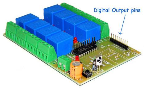 IR remote control digital outputs. | Serial LCD | Scoop.it