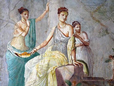 El mundo de Avekrénides. : Pintura Pompeyana. | Mundo Clásico | Scoop.it