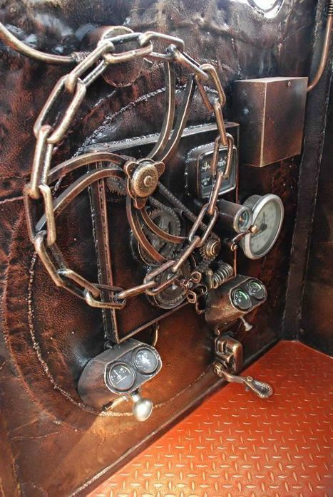 Steampunk Locomotive Is One Smoking BBQ Grill | Strange days indeed... | Scoop.it