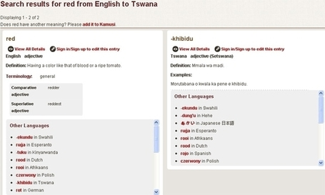 Online dictionary to transform translation | ITWeb | Metaglossia: The Translation World | Scoop.it