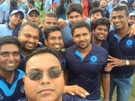 (Photos) Farveez Maharoof at Wesley Walk 2015 | Sri Lanka Cricket | Scoop.it