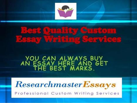 Best Essay Writing Service- Know the Factors to Consider | Research Master Essays | Scoop.it